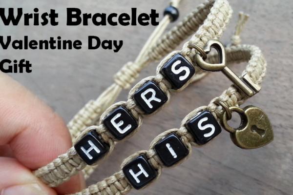 couples bracelet for valentine day