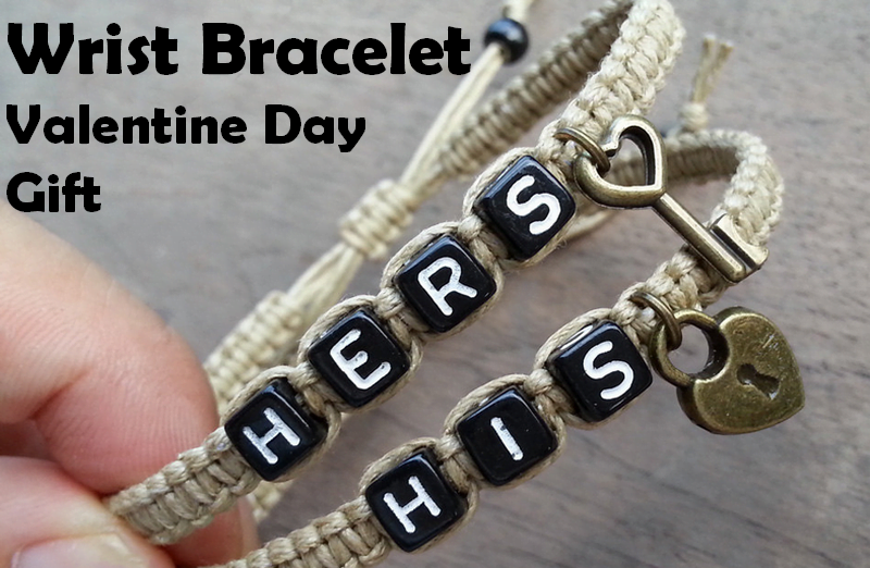 couples bracelet for valentine day