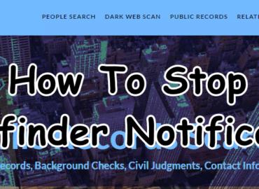 Stop Truthfinder Notifications