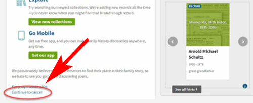 free ancestry search no subscription