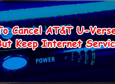 Terminate AT&T U verse service