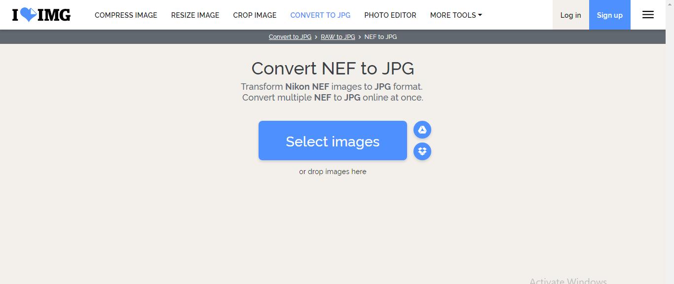 nikon nef file converter free download