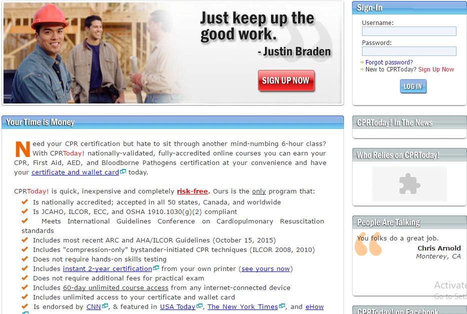 Cpr Classes Online 6 Best Websites For Certification Us Healthcare