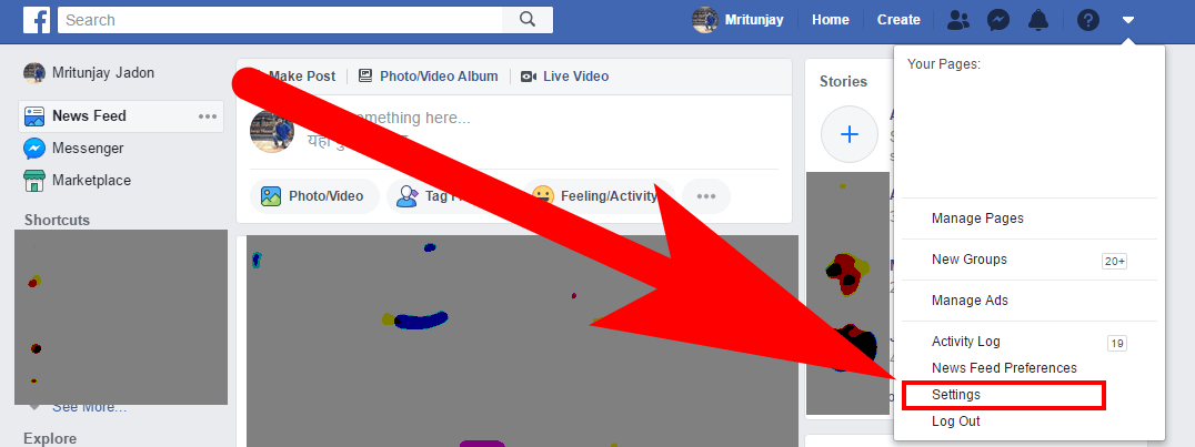 how to block on FB