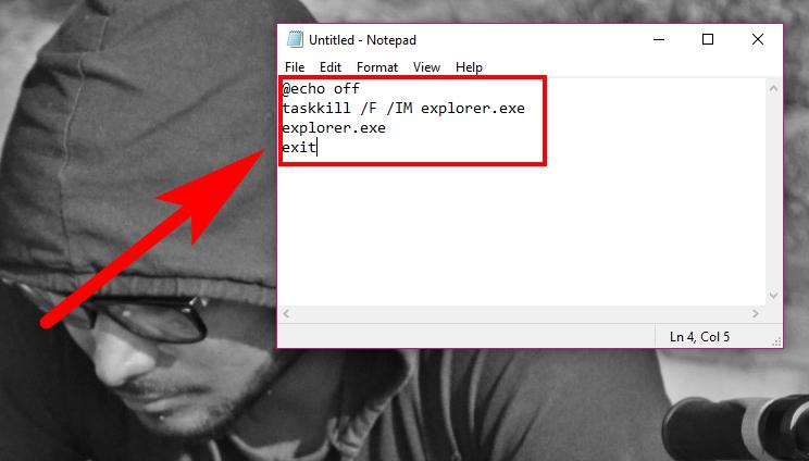 command line to remove windows 10 watermark