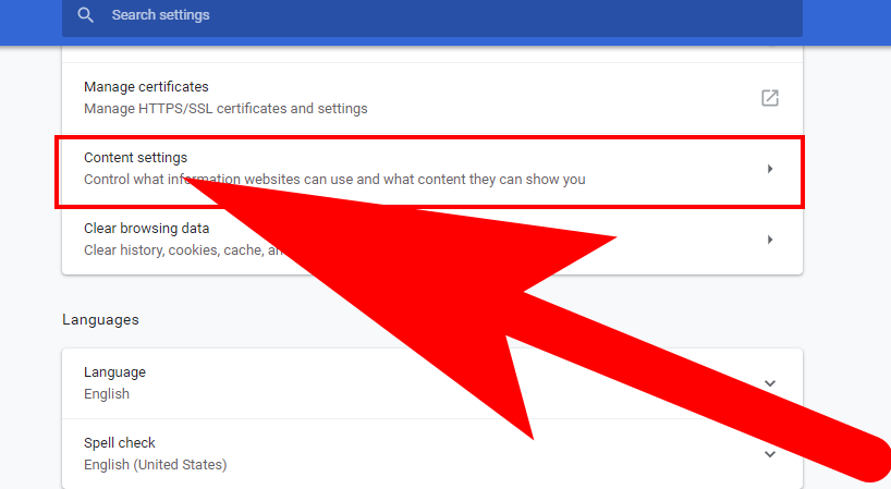 turn off google chrome notifications android