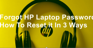 Forgot HP Laptop Password