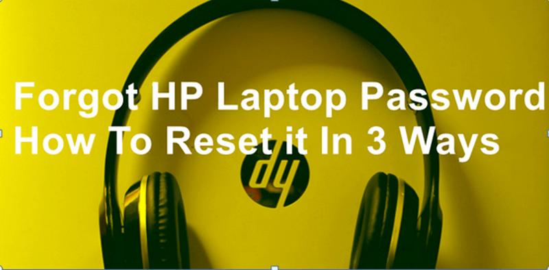 Forgot HP Laptop Password